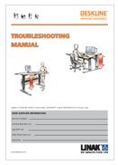 LINAK deskline troubleshooting guide