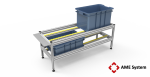 custom designed aluminium t-slot extrusion conveyor