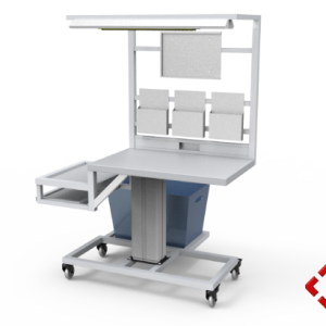 custom designed aluminium t-slot extrusion workbenchh