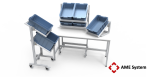 custom designed aluminium t-slot extrusion workbenches