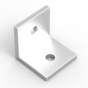 32x32x4 aluminium angle to suit 40 series extrusion