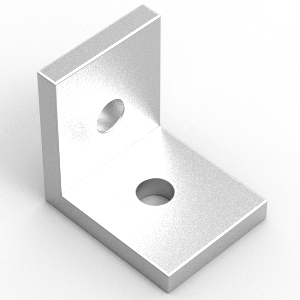 40x40x6 aluminium angle to suit 40 series extrusion