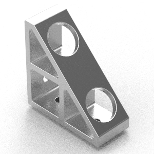 90x90 corner bracket to suit 40 series extrusion