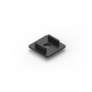 30x30 black endcap for 30x30 series aluminium t-slot extrusions