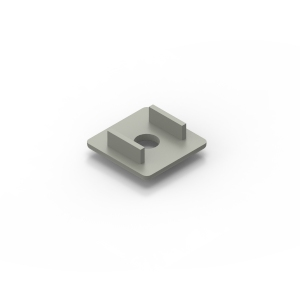 30x30 grey endcap for 30x30 series aluminium t-slot extrusions