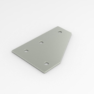 L-type bracing plate for 40 series profiles