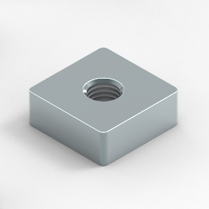 square nuts to suit T-slot aluminium extrusion