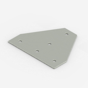 T-type bracing plate for 40 series profiles