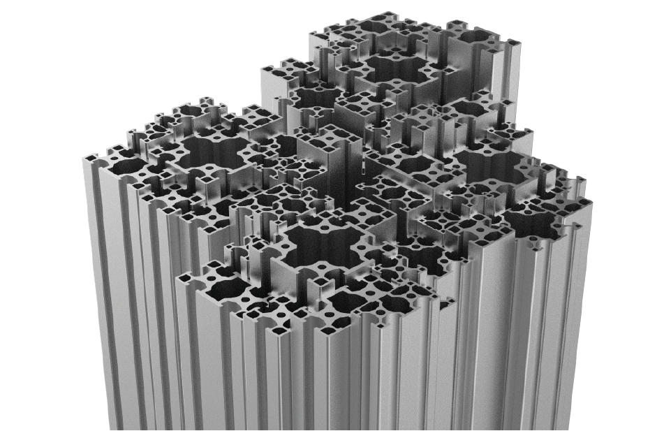 Australian Designed 10mm Aluminium T-slot Extrusion Profile Range